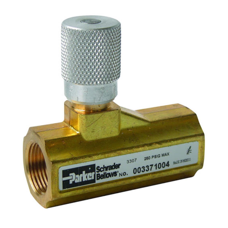 Válvulas Pneumáticas Reguladoras de Fluxo